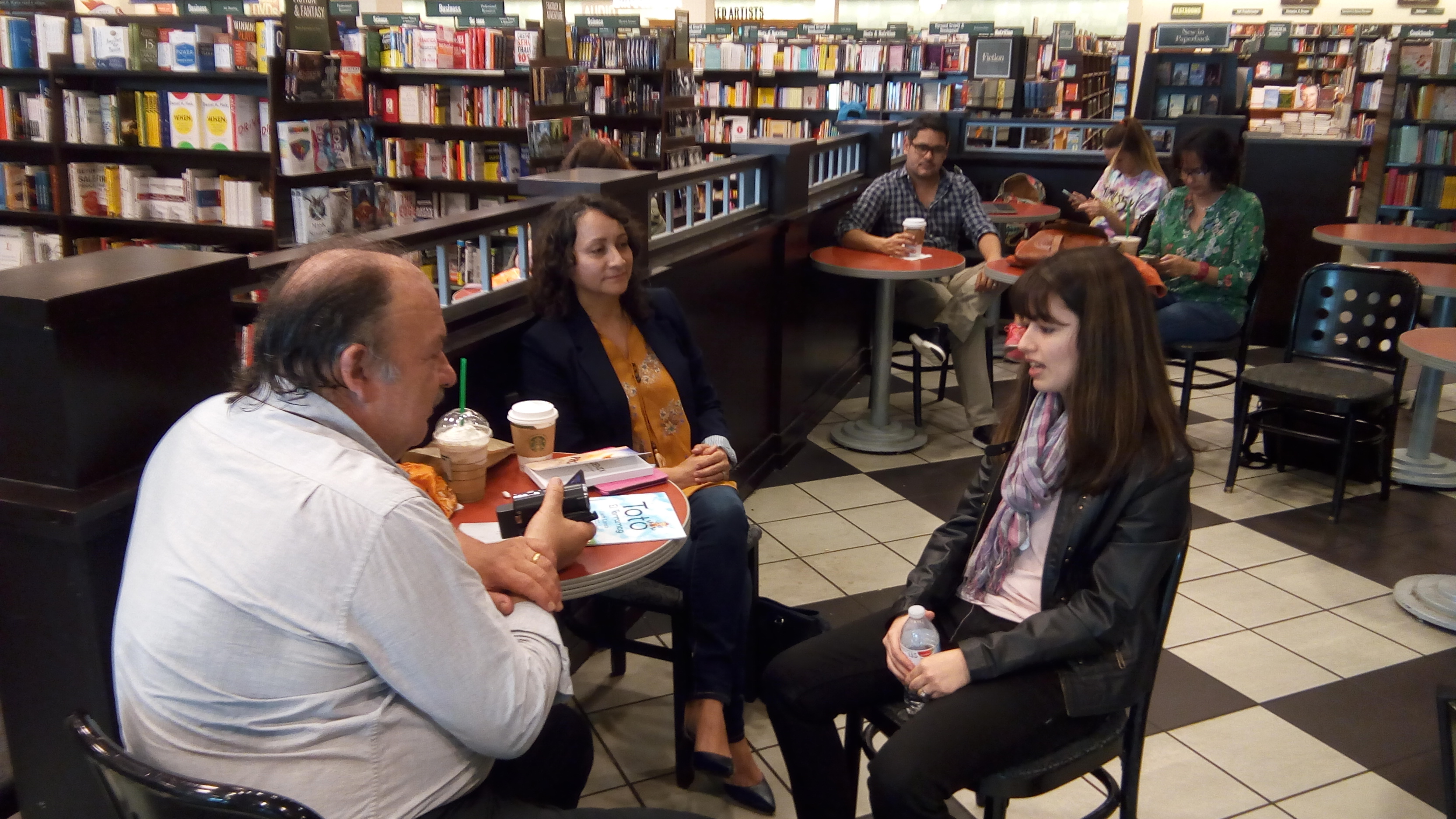 Interviews with North Texas Book Festival Finalists!