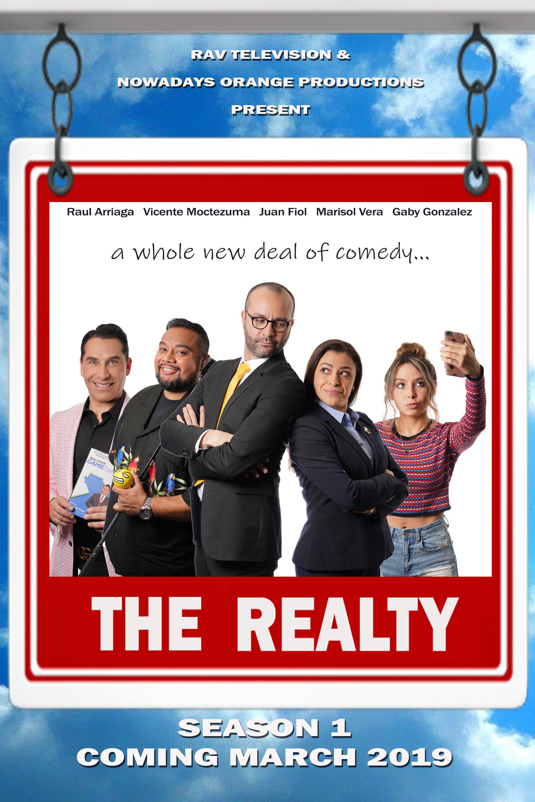 "New series premiere: ""THE REALTY | RISAS EN VENTA"""